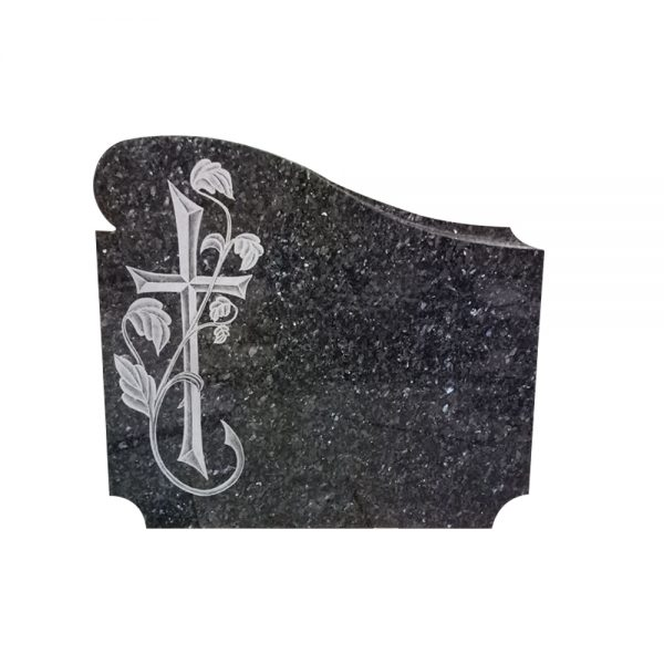 Blue pearl granite tombstone with French style.jpg