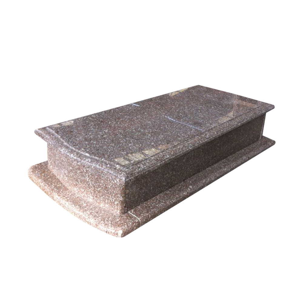 Brown G648 granite Poland style monuments.jpg