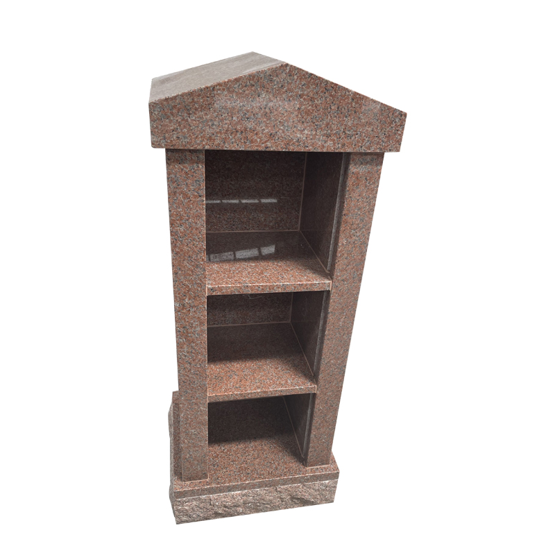 Stones for Graves with 3 Niche Columbaria