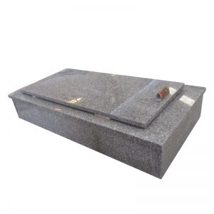 Traditional Tombstone Shapes with Brown Granite G664